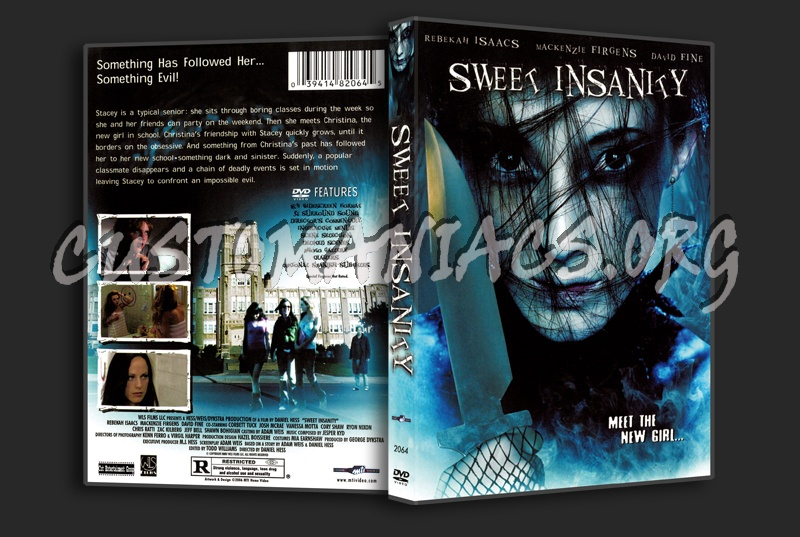 Sweet Insanity dvd cover
