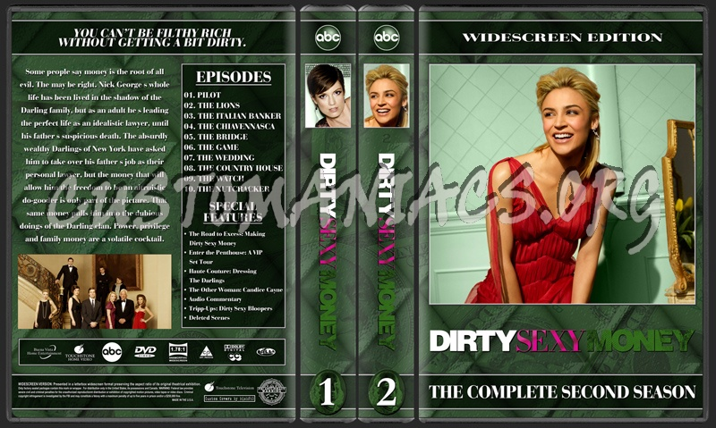 Dirty Sexy Money dvd cover