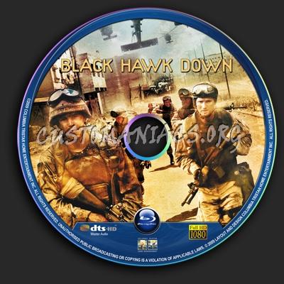 Black Hawk Down blu-ray label