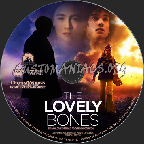 Quotes From Lovely Bones: DVD Covers & Labels By