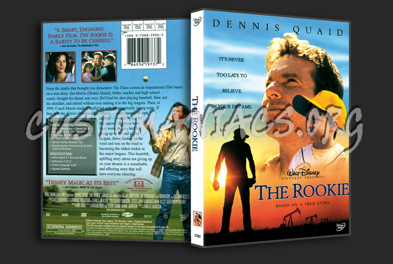 The Rookie dvd cover