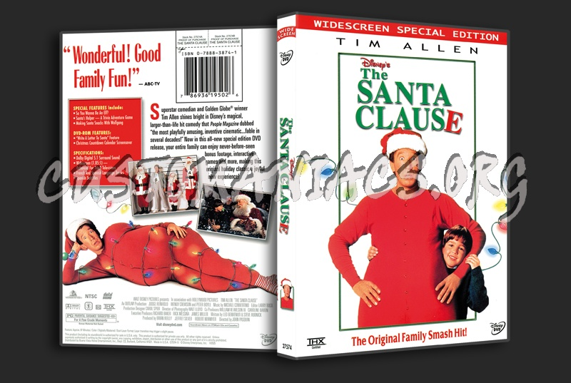 The Santa Clause dvd cover