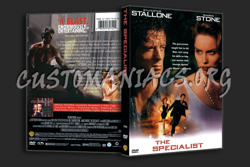 The Specialist dvd cover