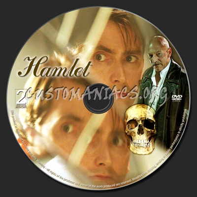 Hamlet dvd label