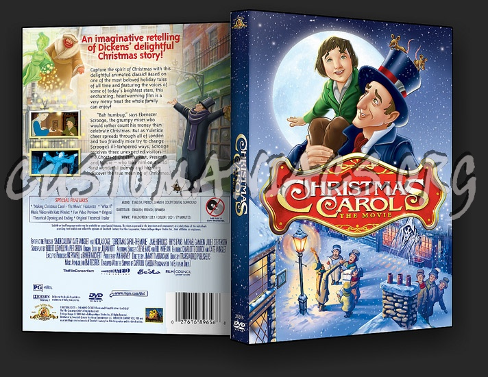 Christmas Carol The Movie Dvd Cover Dvd Covers Labels By Customaniacs Id 82363 Free Download Highres Dvd Cover