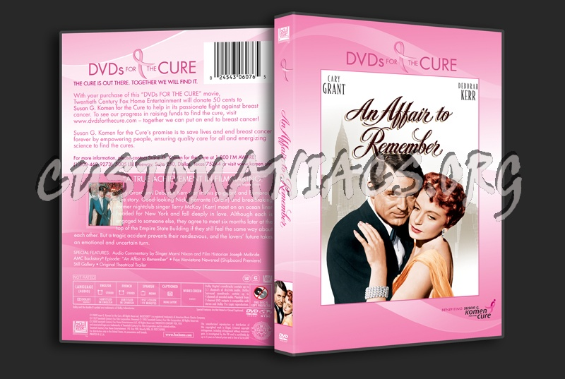 An Affair to Remember dvd cover