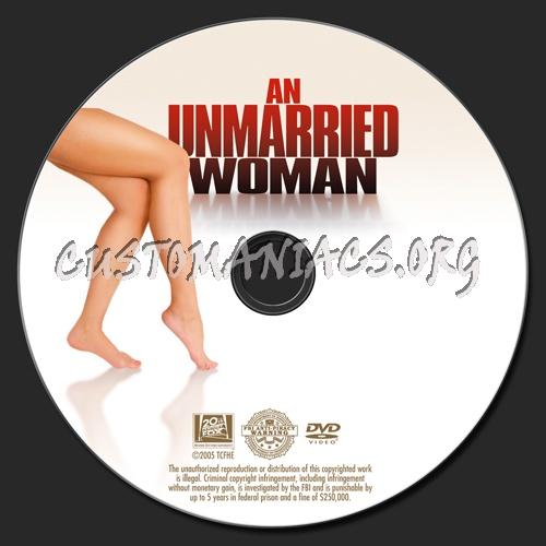 An Unmarried Woman dvd label