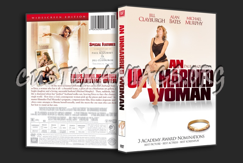 An Unmarried Woman dvd cover