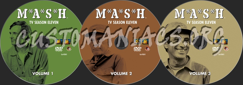 Mash Season 11 dvd label