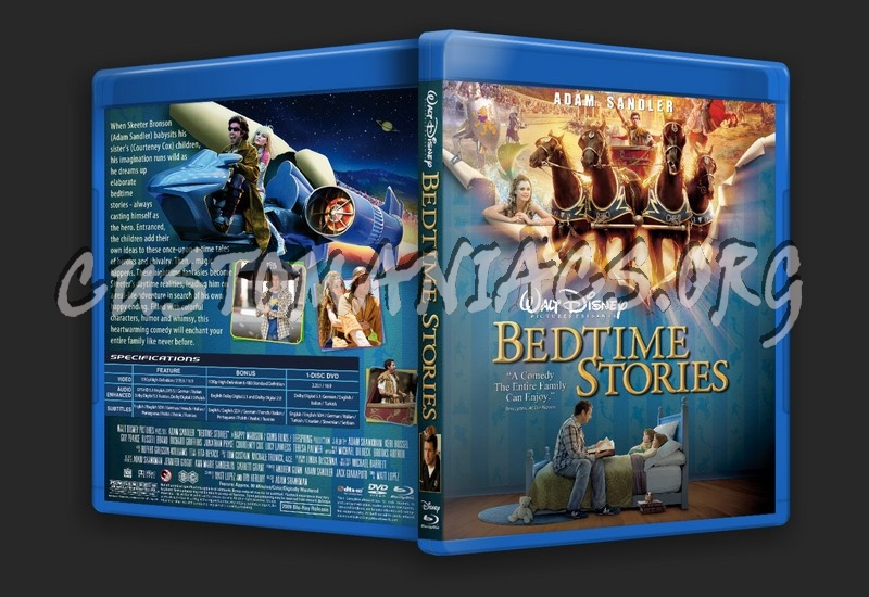 Bedtime Stories blu-ray cover