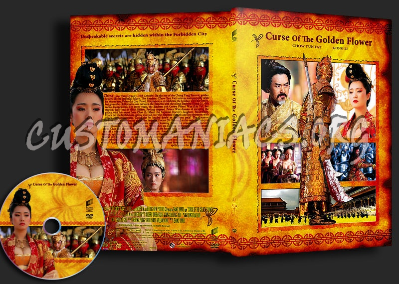 Curse of the golden flower dvd covers labels by customaniacs id curse of the golden flower mightylinksfo