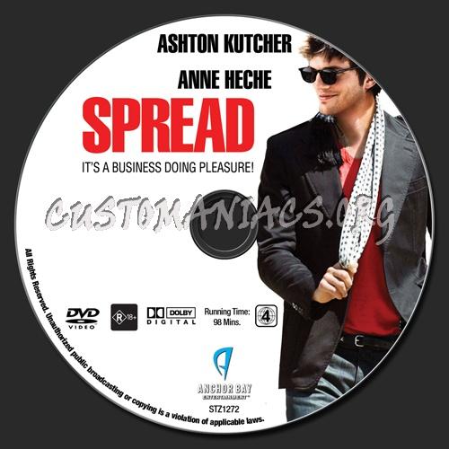 Spread dvd label