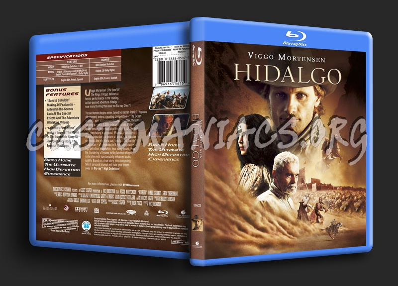 Hidalgo blu-ray cover