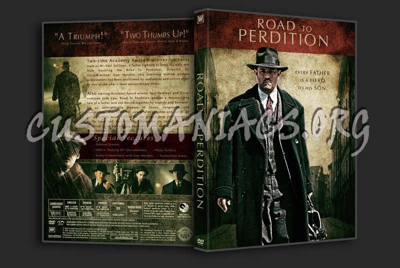 Road To Perdition Quotes: Road To Perdition Dvd Cover