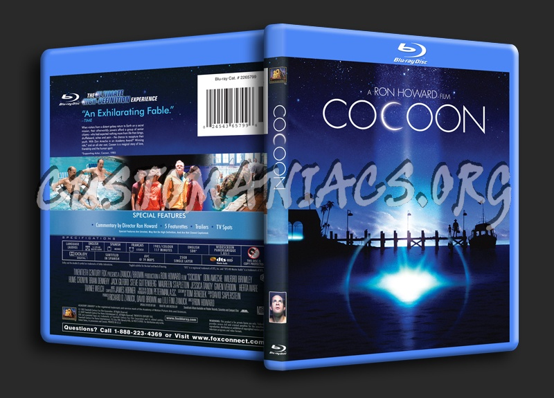 Cocoon blu-ray cover