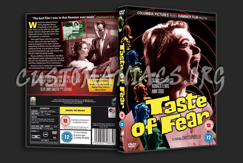 Taste of Fear dvd cover