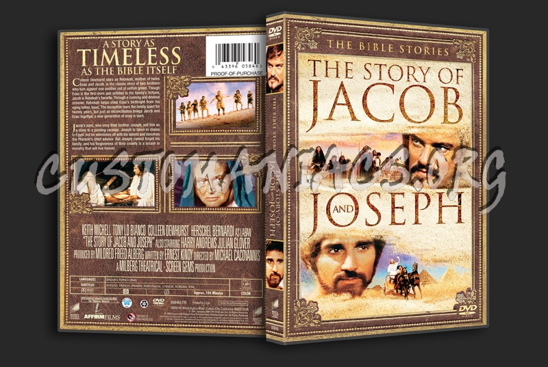 The Bible Stories The Story of Jacob and Joseph dvd cover