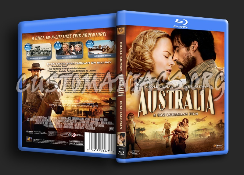 Australia blu-ray cover