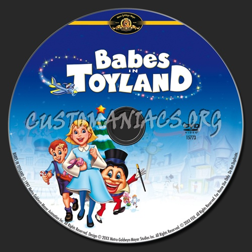 Babes in Toyland dvd label
