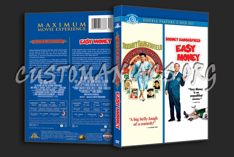 Back to School / Easy Money dvd cover