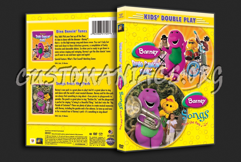 Barney: Dino Dancin' Tunes / Barney Songs From the Park dvd cover