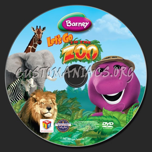 Barney-zoo-dvd Images