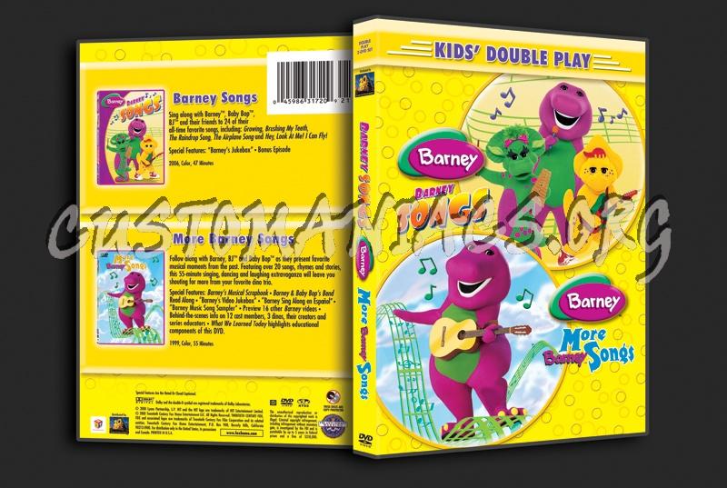 Barney: Songs / More Barney Songs dvd cover