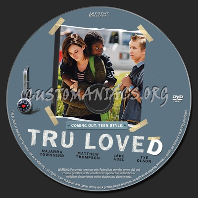 Tru Loved dvd label