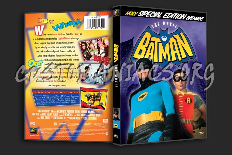 Batman The Movie (1966) dvd cover