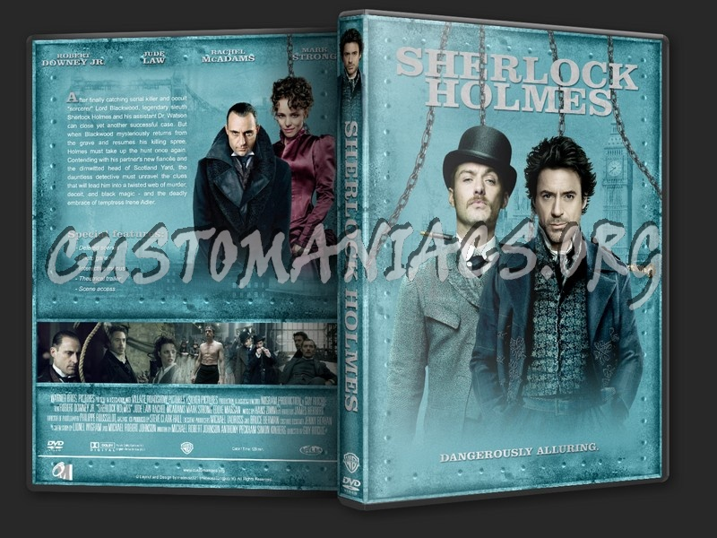 Sherlock Holmes dvd cover - DVD Covers & Labels by Customaniacs, id