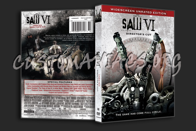 Saw VI dvd cover