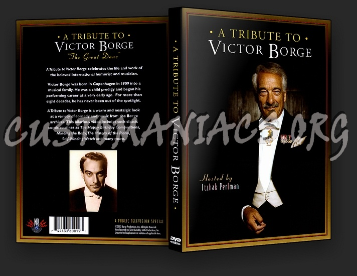 A Tribute to Victor Borge dvd cover