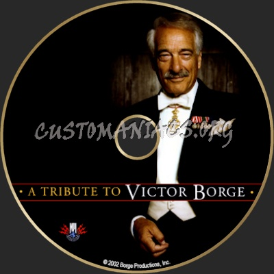A Tribute to Victor Borge dvd label
