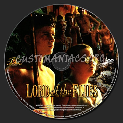 Lord of the Flies dvd label - DVD Covers & Labels by Customaniacs, id