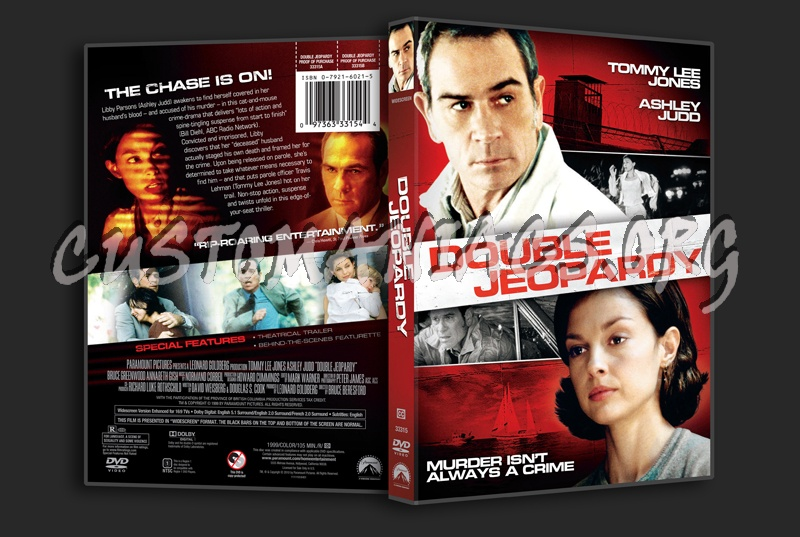 Double Jeopardy 1999 Dvd Cover Dvd Covers Labels By Customaniacs Id 83614 Free Download Highres Dvd Cover