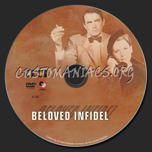 Beloved Infidel dvd label