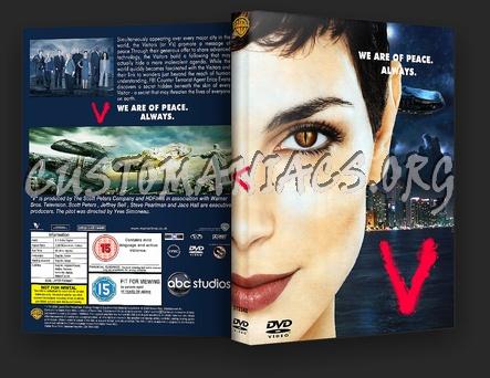 V (2009) dvd cover
