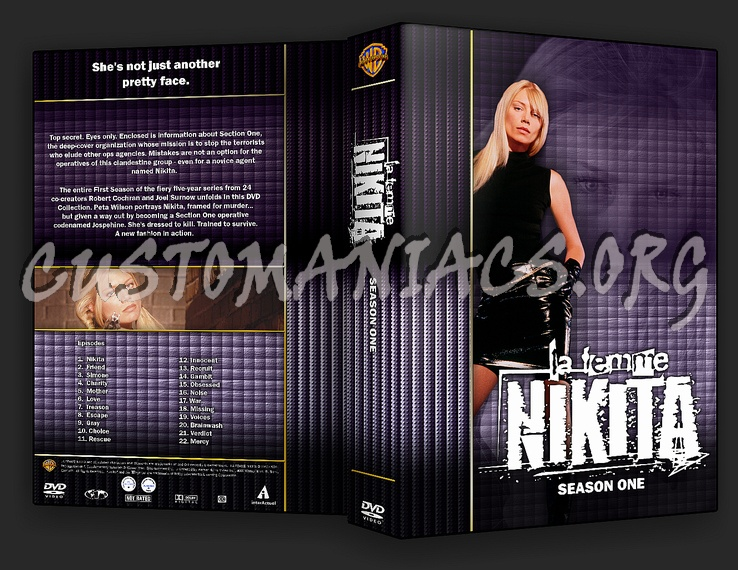 La Femme Nikita - TV Collection - DVD Covers & Labels by