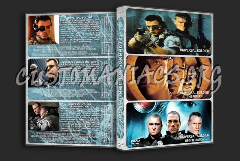 Universal Soldier Trilogy dvd cover