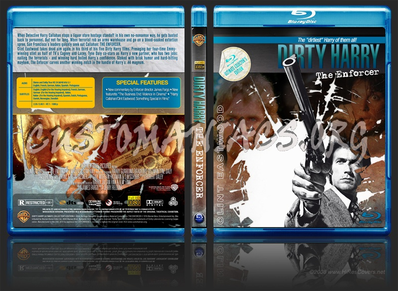 Dirty Harry Collection dvd cover