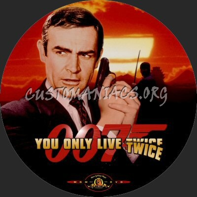 You Only Live Twice dvd label