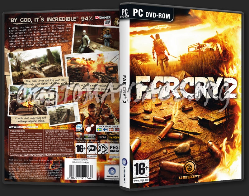 Far Cry 2 Dvd Cover Dvd Covers Labels By Customaniacs Id