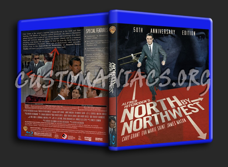 north by northwest blu ray cover dvd covers labels by