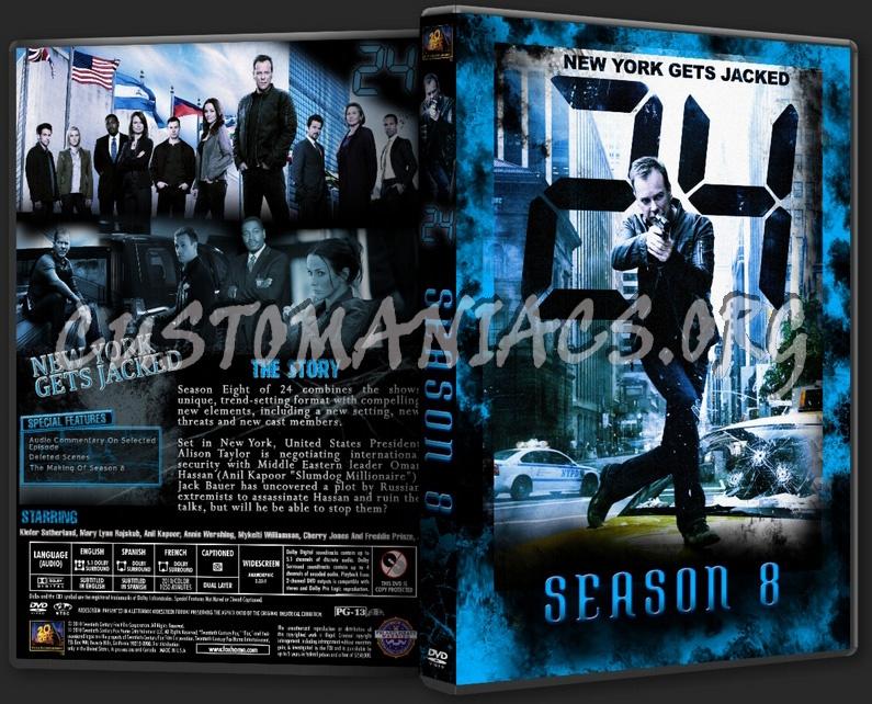 24 Season 8 dvd cover