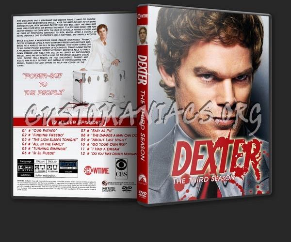 Dexter dvd cover