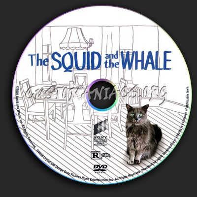 The Squid And The Whale dvd label