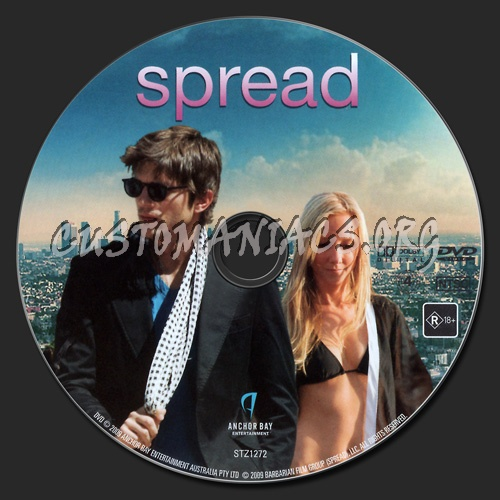 Spread dvd label