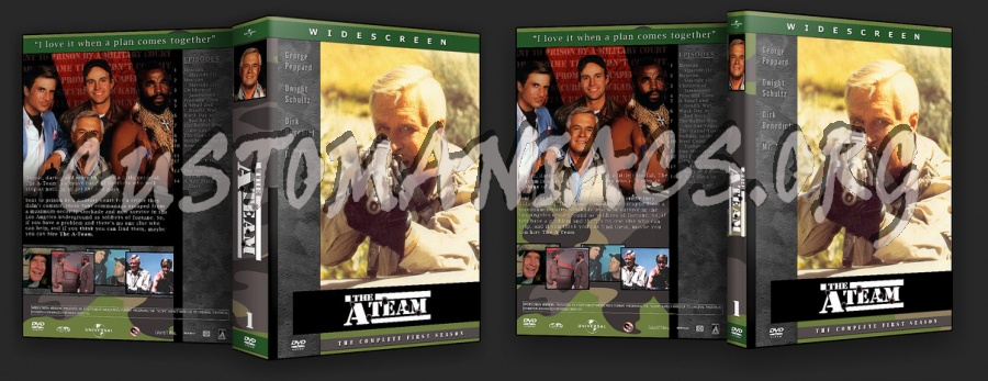 The A-Team dvd cover