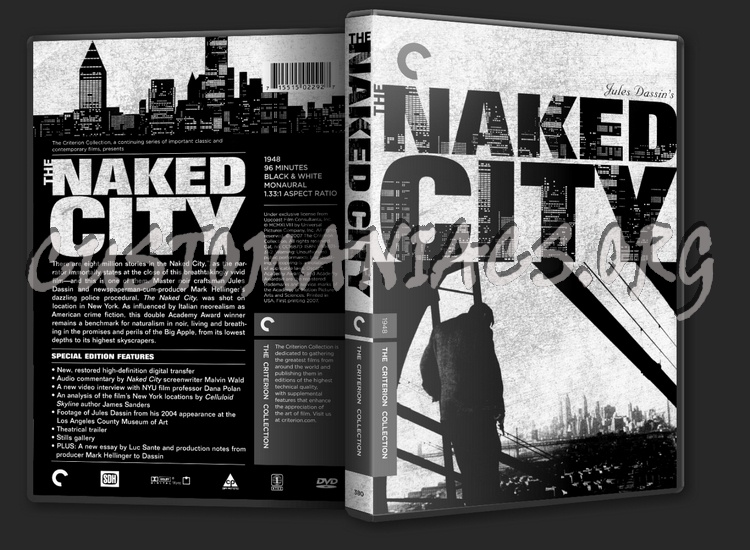 380 - The Naked City dvd cover