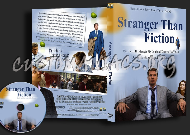 Stranger Than Fiction dvd cover